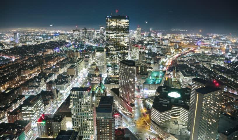 Boston usa panorama