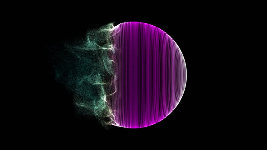 Noise displacement force, Background Stock Animation, 3d after effects awesome animation, logo animation footage,Impressive footage