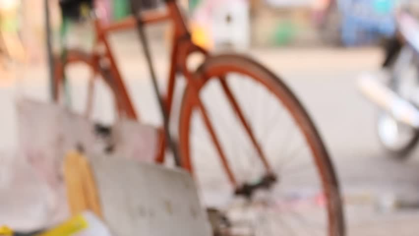 Smoke with blurred bicycle background | Shutterstock HD Video #24537953