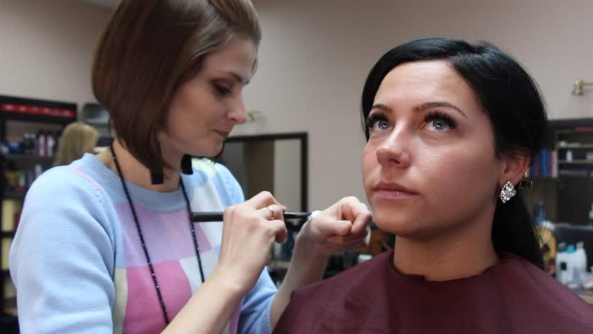 Makeup visage | Shutterstock HD Video #24558467