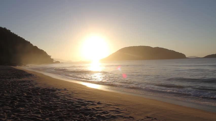 Sunrise  beach | Shutterstock HD Video #24605084
