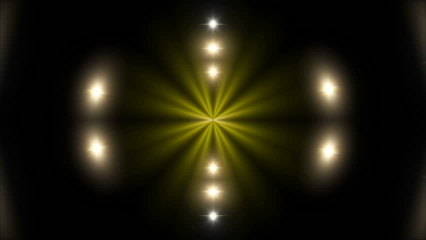 gold shape and black background, loop #24620057
