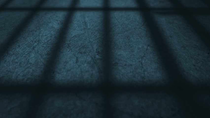 Shadow of a Prison Door Opening