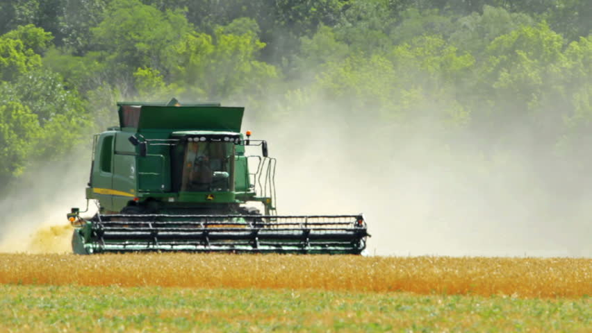 agriculture and harvester