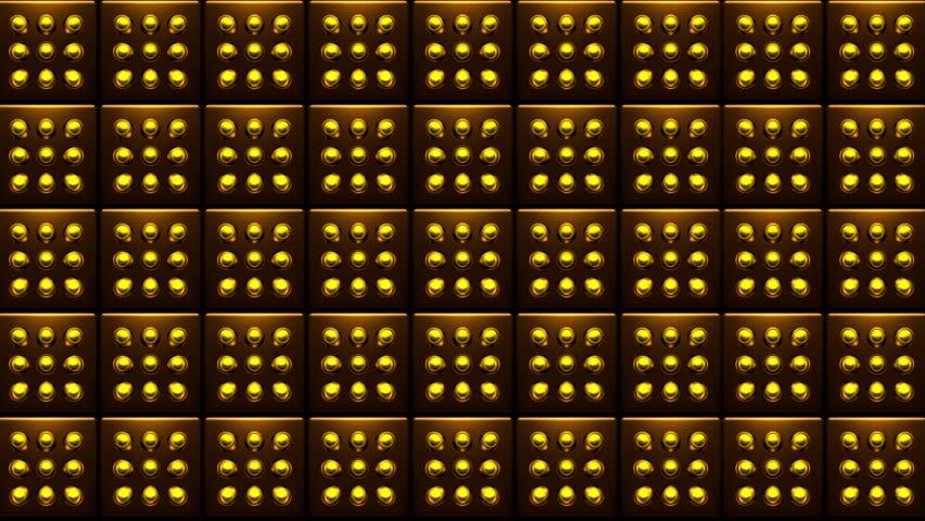 Golden Yellow Dot Pattern VJ #24809654