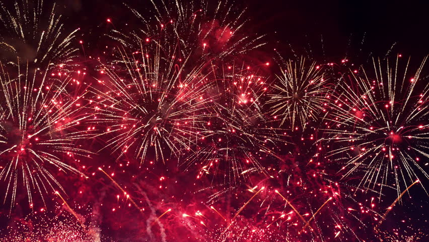 High quality video of amazing fireworks show in 4K   Shutterstock HD Video #24811844