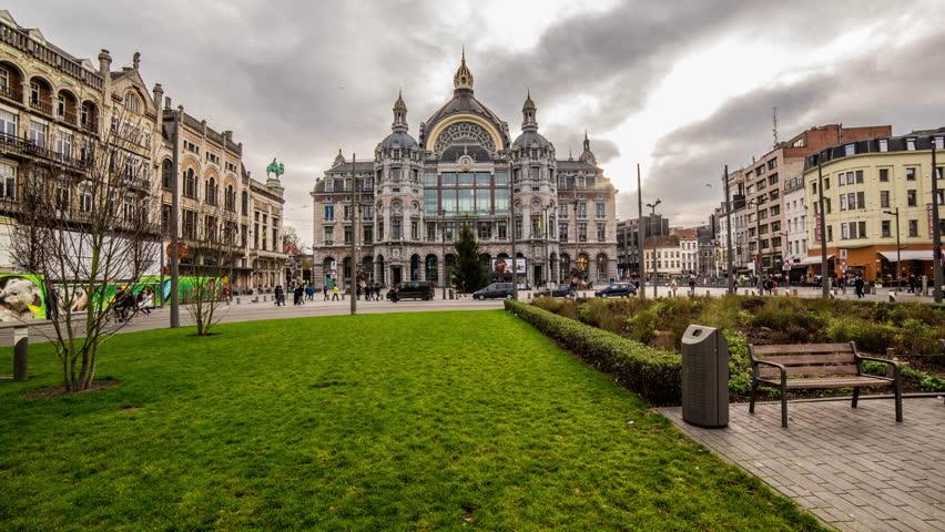 Hyperlapse Antwerp