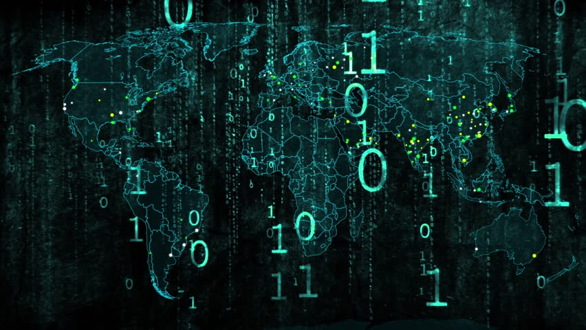 Hacker War Super Modern Digital Stok Videosu (%100 Telifsiz ...