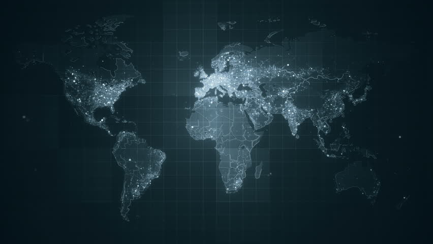 After effects elements9search id9000c066 5699 4979 aaa2 this animated world map with visual effects and glowing connections gumiabroncs Image collections