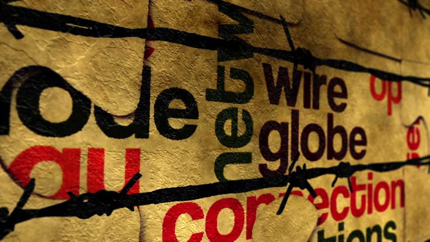 Wire globe puzzle concept    Shutterstock HD Video #24991679