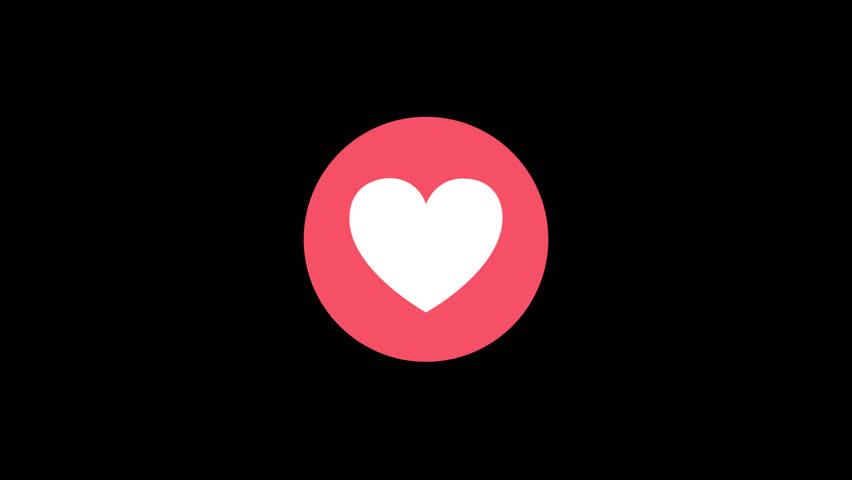 Facebook Reaction Love 1080p