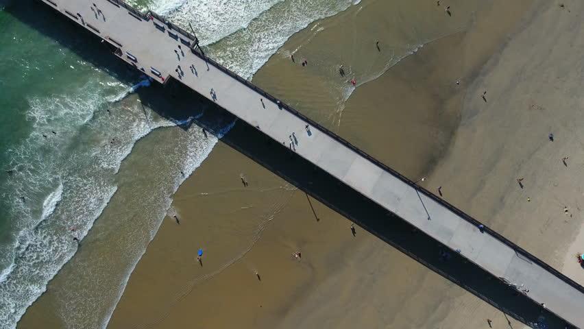 Pier Overhead Aerial | Shutterstock HD Video #25046072