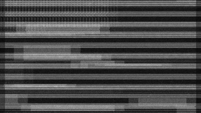 Glitch noise static television VFX. Visual video effects stripes background, tv screen noise glitch effect. Video background, transition effect for video editing, intro and logo reveals with sound.  | Shutterstock HD Video #25061708