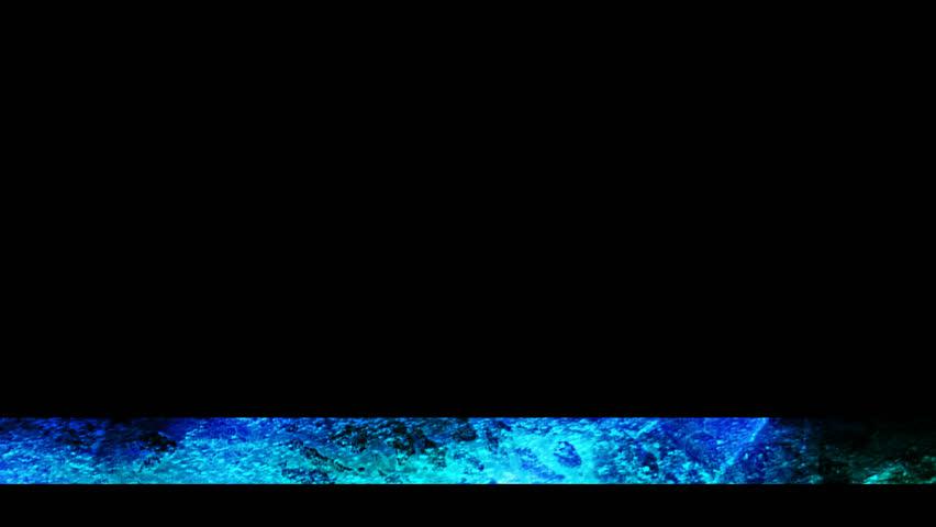 blue heat texture lower third #25079372