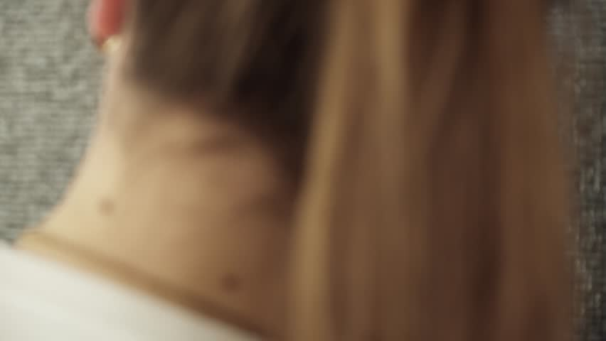 Beautician making brows for woman, closeup | Shutterstock HD Video #25085795