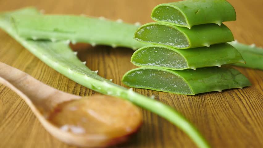 Aloe Vera Gel On Wooden Stock Footage Video (100% Royalty-free) 25124495    Shutterstock