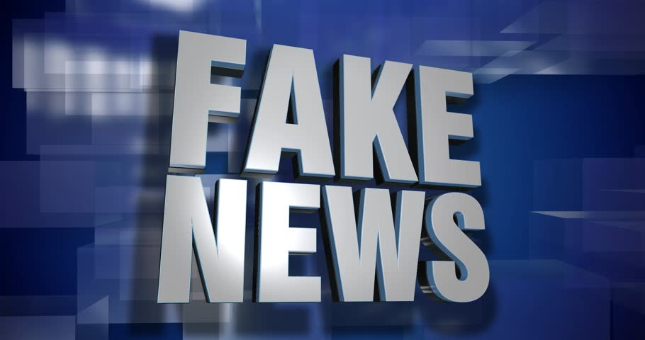 A blue dynamic 3D Fake News transition and title page animation. 5 and 2 second options included with optional luma matte for both.	 	 | Shutterstock HD Video #25140284