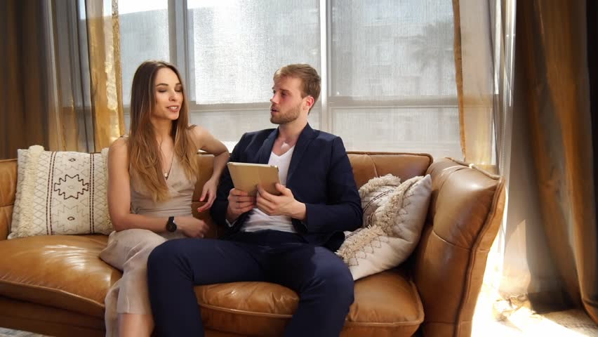 Business meeting, partners brainstorming at creative office / Slow motion  | Shutterstock HD Video #25145111