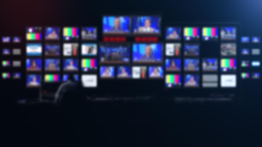 News control room | Shutterstock HD Video #25178882