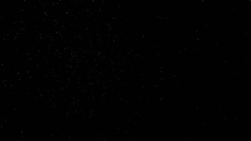 Twinkling flares in 4K UHD video. Space and stars, imitation. Use for background and texture. #25239443