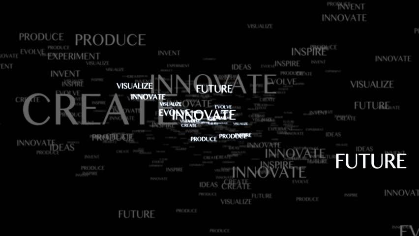 MOTIVATION Keywords Text Animation, Rendering, Background, Loop, 4k  | Shutterstock HD Video #25247714