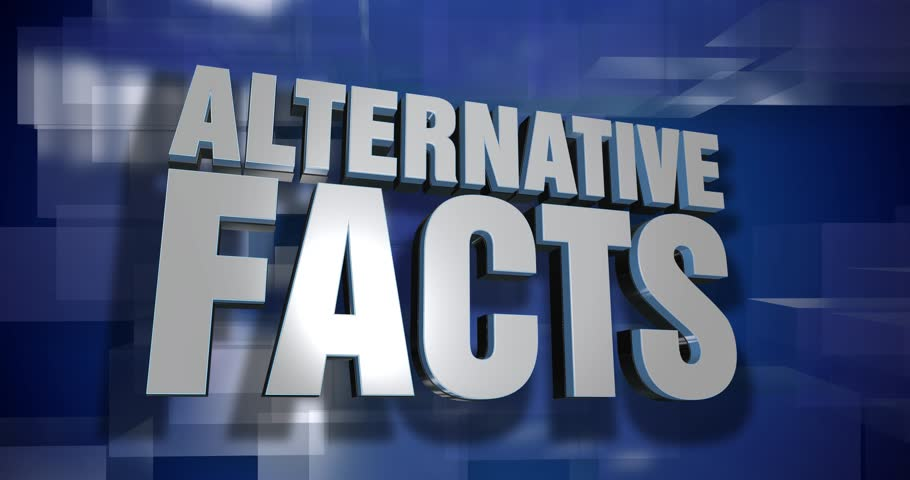 A blue dynamic 3D Alternative Facts transition and title page animation. 5 and 2 second options included with optional luma matte for both.  | Shutterstock HD Video #25308407