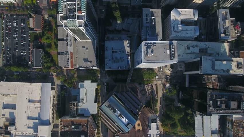 Aerial North Carolina Charlotte September 2016 4K #25410764