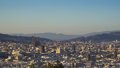 Time Lapse Malaga Spain Stock Footage Video 100 Royalty Free 1012964642 Shutterstock
