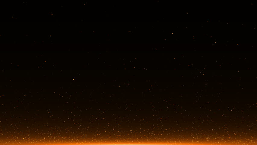 abstract background with Rising embers. Seamless loop #25547066