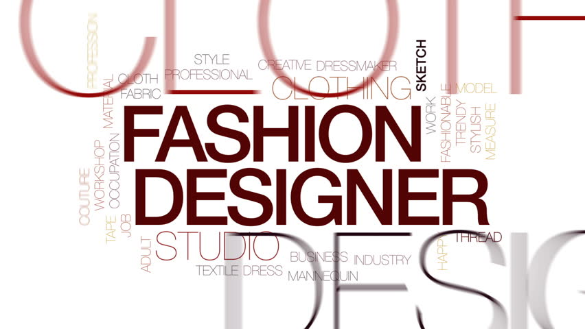 Fashion Designer Animated Word Cloud Stock Footage Video 100 Royalty Free 25566842 Shutterstock