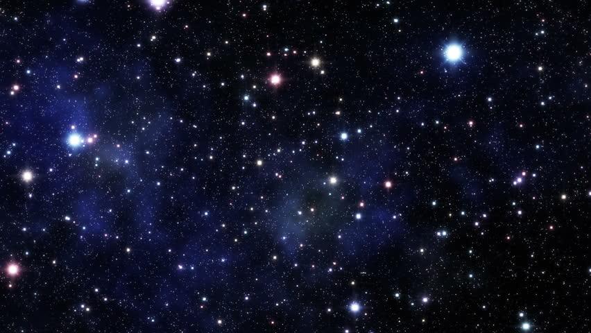 Flight through galaxy | Shutterstock HD Video #2557442