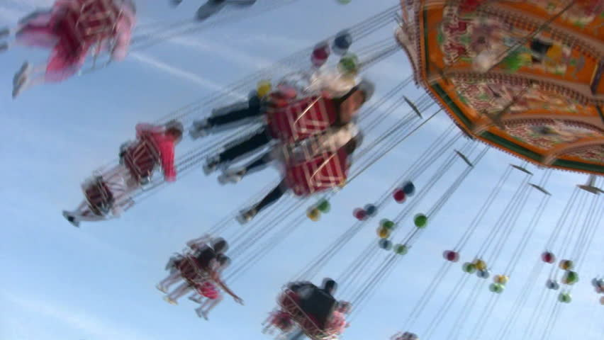 Chairoplane Royalty-Free Stock Footage #2560277