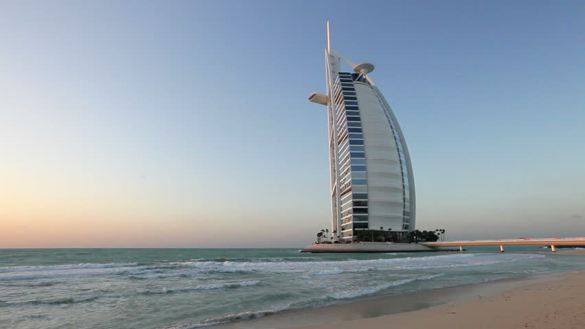 DUBAI, UNITED ARAB EMIRATES - CIRCA MAY 2011: a shot of the Burj Al Arab Hotel