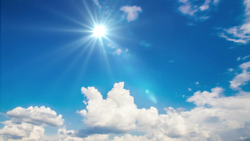 Airplane fly by sunny day blue sky.   Shutterstock HD Video #25830932