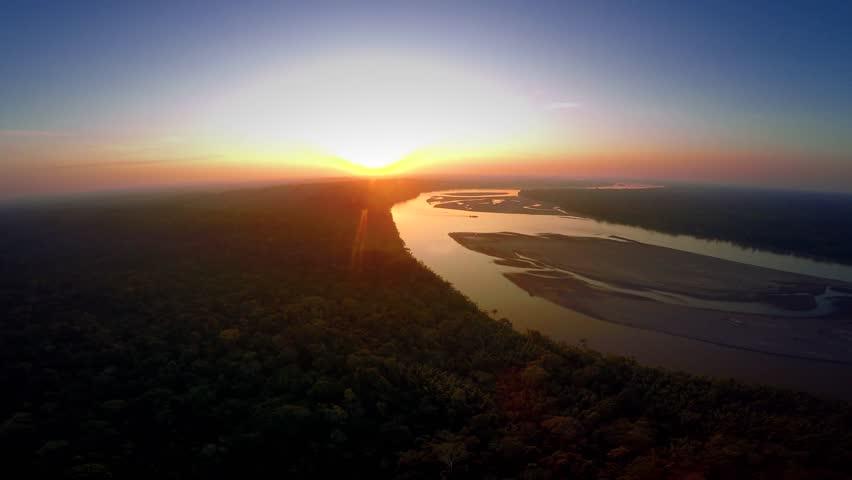 Aerial Shot Of Amazon Rainforest | Shutterstock HD Video #25928933