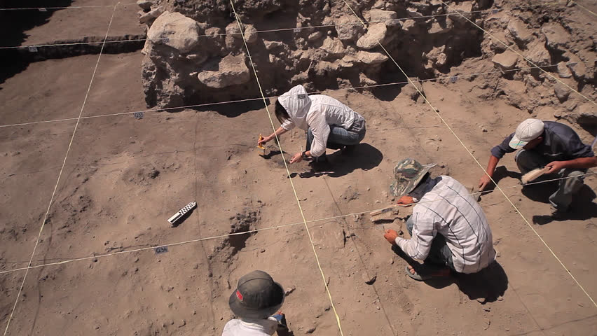 Archaeologist, excavations in middle east, archaeological dig