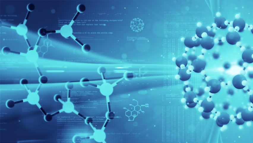 Science Background Molecular Structure Chemical Stock Footage Video 100 Royalty Free 2612717 Shutterstock
