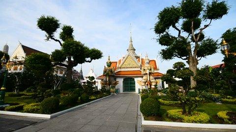 BANGKOK, THAILAND - 18th MARCH, 2017: Exterior of the Wat Arun, Bangkok, Thailand, Asia.