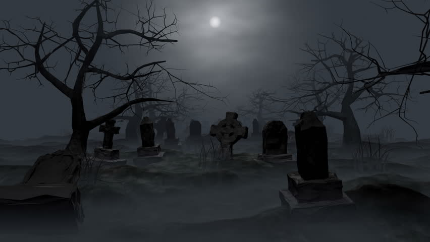 Graveyard loop, 3d animation walktrough.