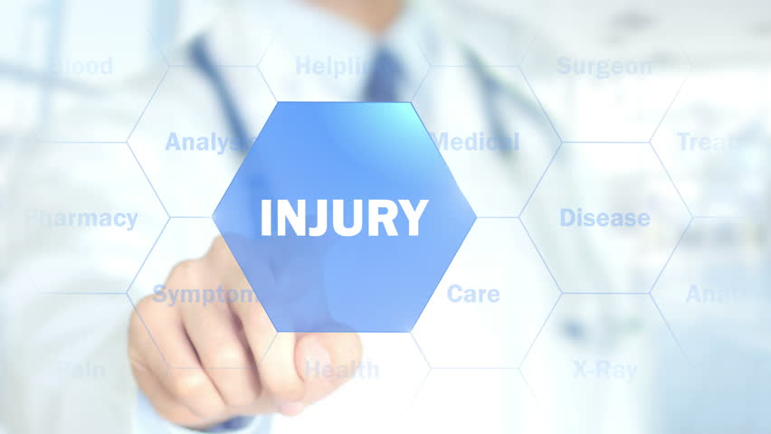 Injury, Doctor working on holographic interface, Motion Graphics | Shutterstock HD Video #26194550