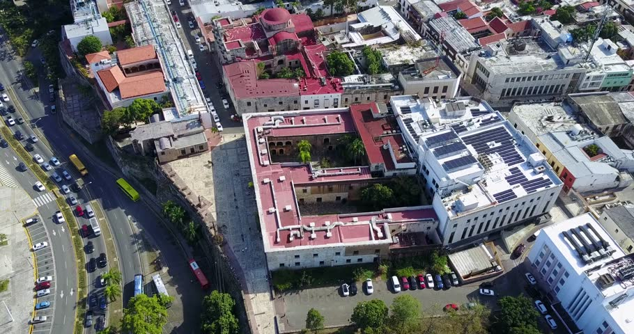 Aerial Footage of Santo Domingo, Dominican Republic | Shutterstock HD Video #26208362