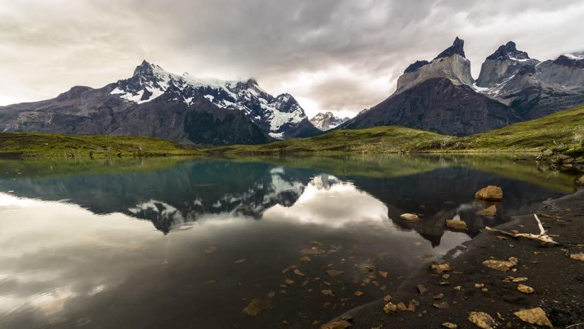 Torres del Paine Timelapse   Shutterstock HD Video #26252171
