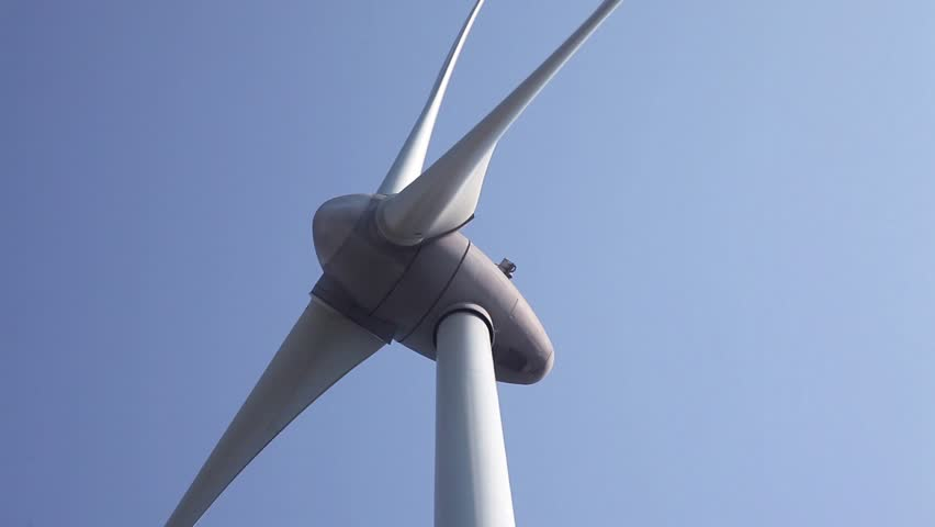 Windturbines producing alternative energy | Shutterstock HD Video #2625227