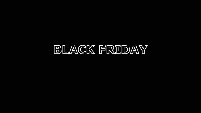 Words Black Friday On A Stock Footage Video 100 Royalty Free 26307296 Shutterstock