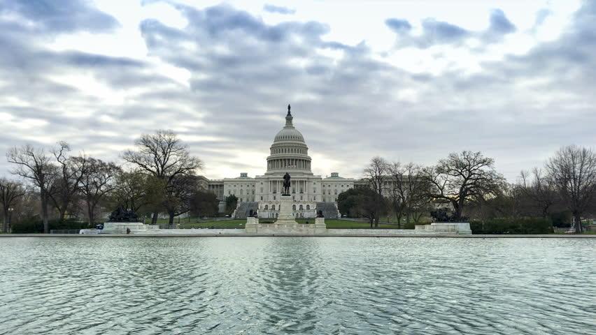 United States Capitol Building in Washington DC USA.