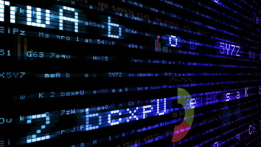 Business data graph digital world space number text. | Shutterstock HD Video #26364128