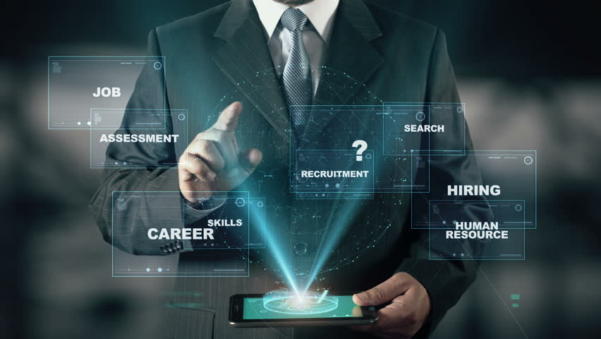 Businessman with Talent Management hologram concept | Shutterstock HD Video #26370824