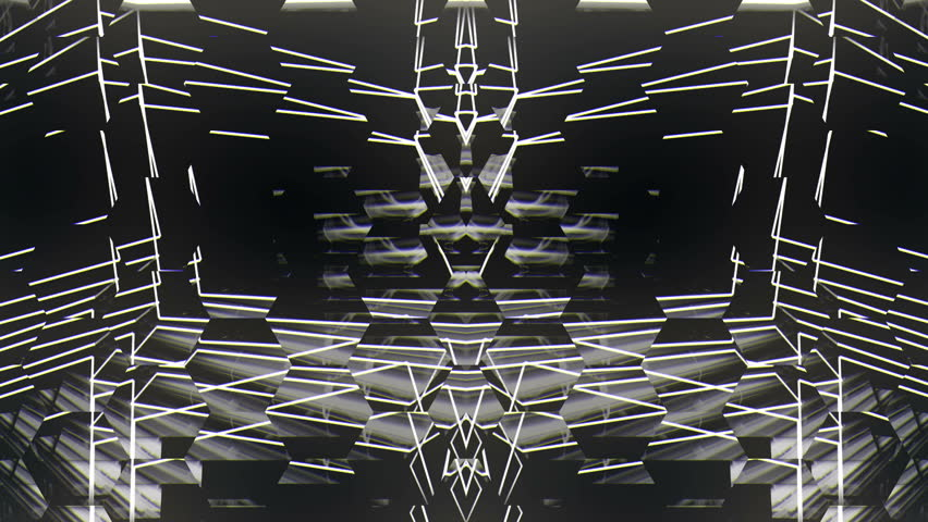 Glitch white lines  Club VIsuals VJ Loop
