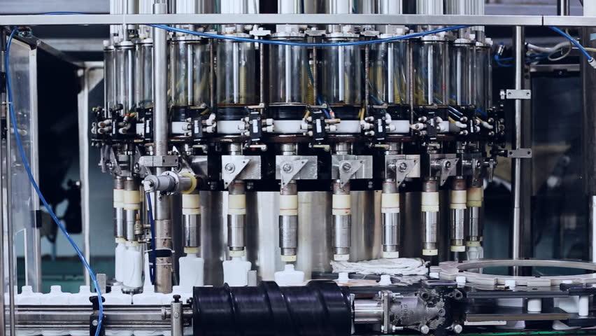 Moving modern machine and conveyor belt, industrial theme | Shutterstock HD Video #26489498