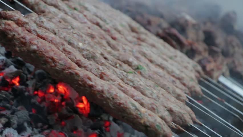 The meat is frying | Shutterstock HD Video #26489879